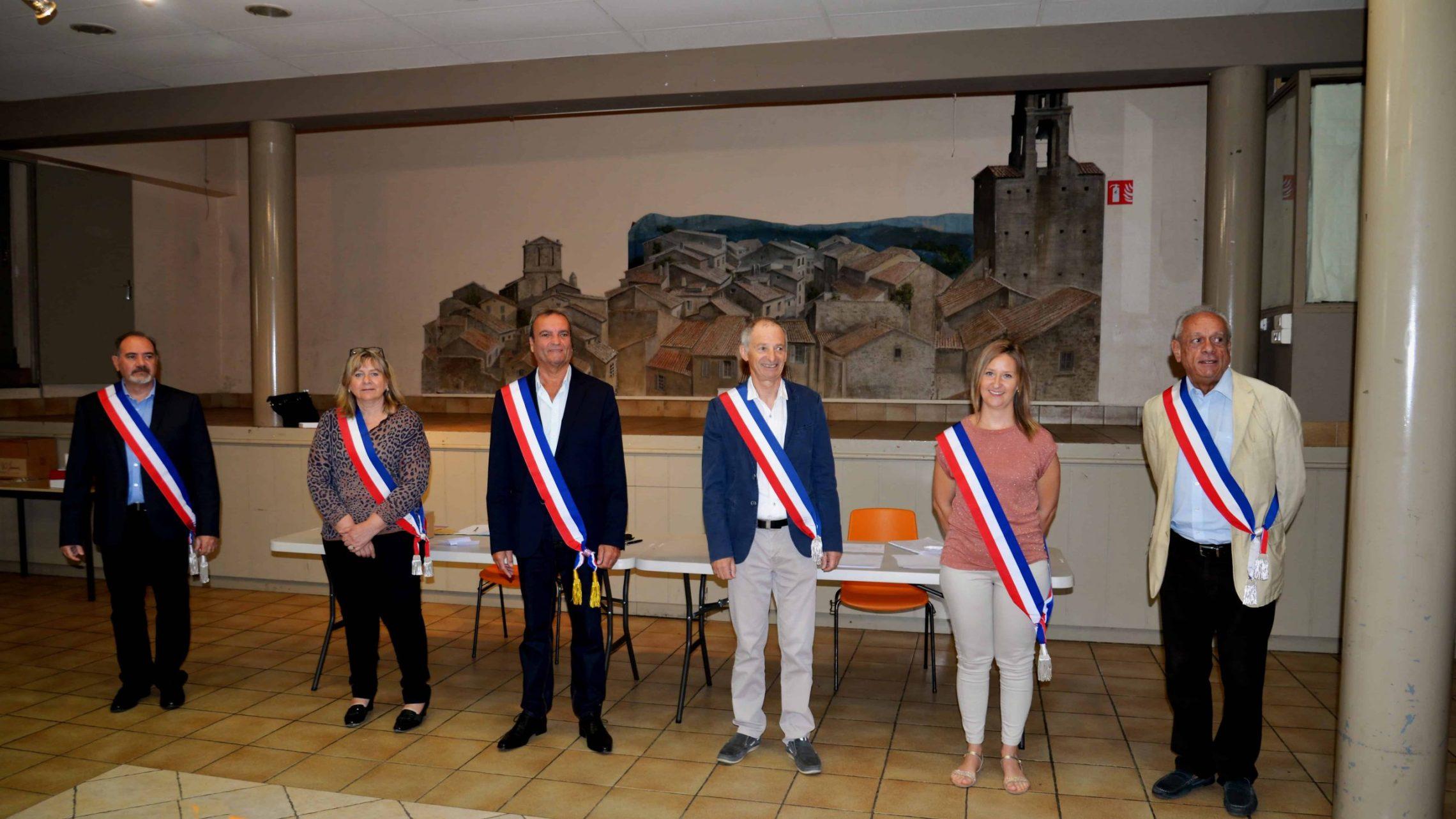 L'équipe municipale de Cucuron