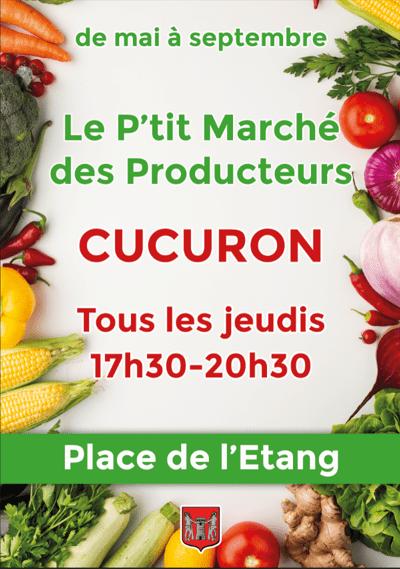 Marché des producteurs à Cucuron
