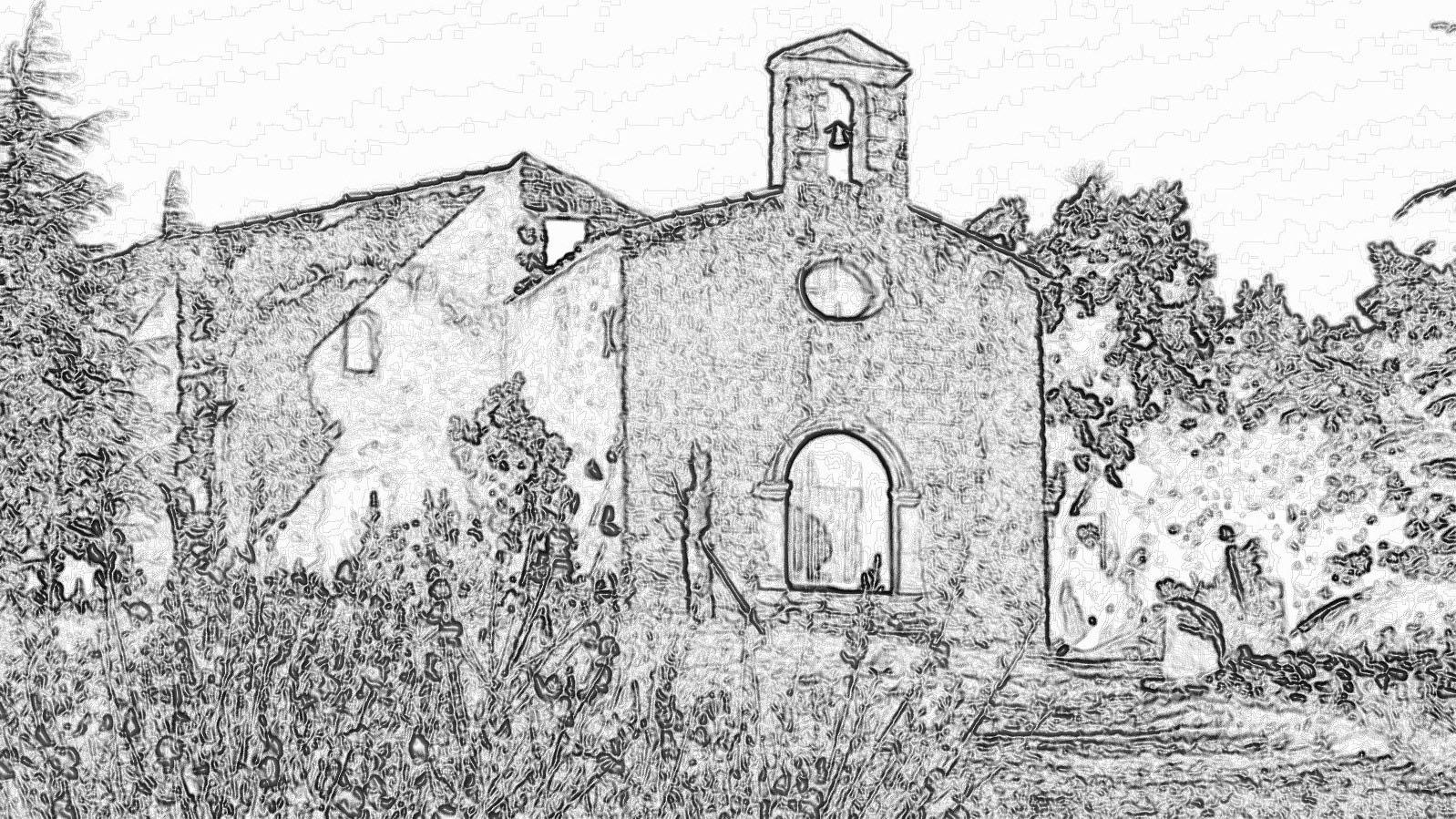 L'ermitage ND de Beauvoir à Cucuron
