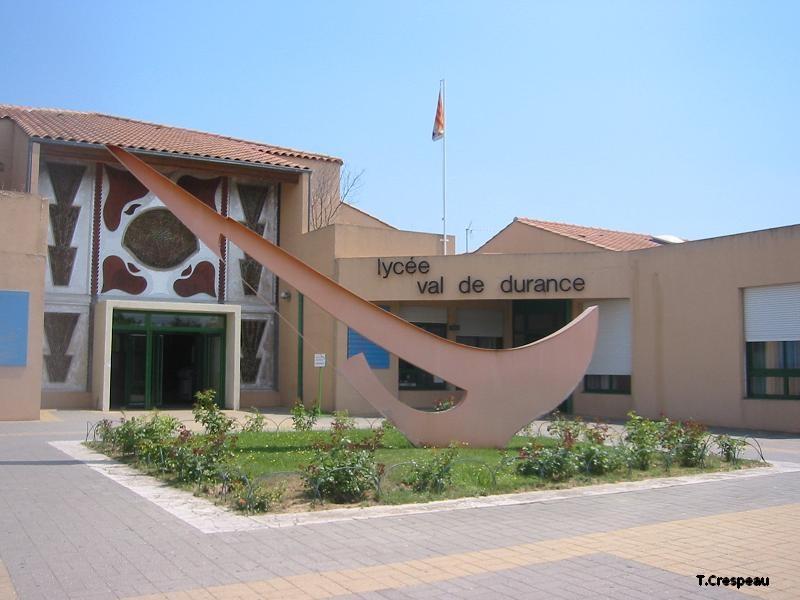 Lycée de secteur Val de Durance